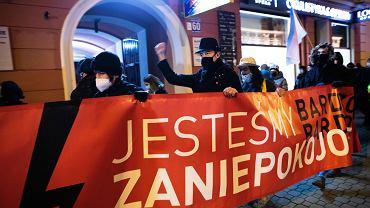 Protest - Strajk kobiet, zdjęcie ilustracyjne