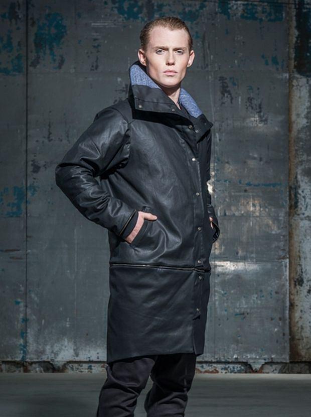 Płaszcz z kolekcji Litfashion. Cena: 800 zł, moda męska, płaszcze