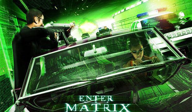 top 10, gry, Top 10 filmowo-growych strzałów, Enter the Matrix