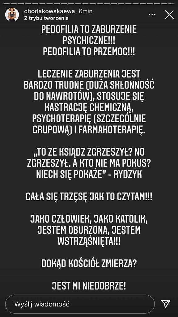Ewa Chodakowska oburzona słowami ojca Rydzyka