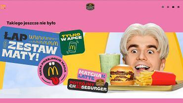 Zestaw Maty już w McDonald's. Ile kosztuje matchak latte z potrójnym cheeseburgerem?