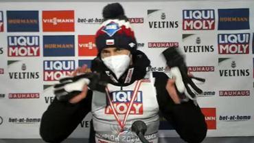 Kamil Stoch na konferencji prasowej