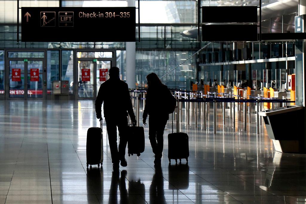 Niemcy, lotnisko w Monachium.