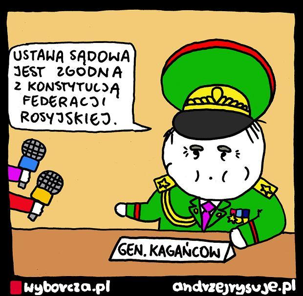 Andrzej Rysuje | KAGAŃCOW - Andrzej Rysuje, 03.02.2020 -