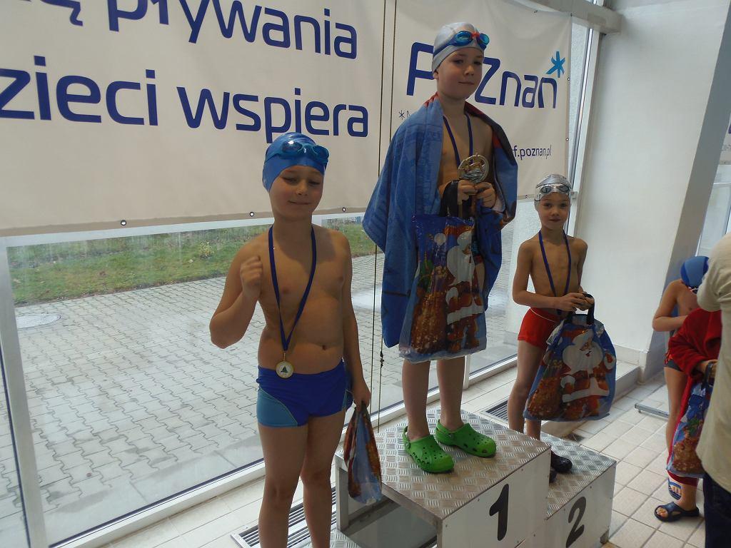 Zawody pływackie Gwiazdka 2015