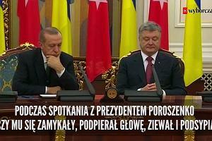 Łamie prawa człowieka, poluje na nieposłusznych dziennikarzy, sędziów i prokuratorów. Prezydent Turcji przyjeżdża z oficjalną wizytą do Polski