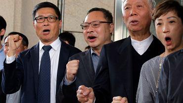 Skazani liderzy protestów z 2014 r.