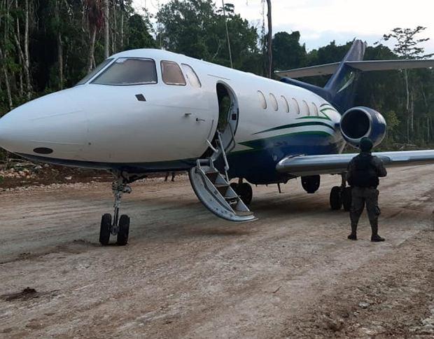 Hawker Siddley 125 przechwycony przez wojsko Gwatemali