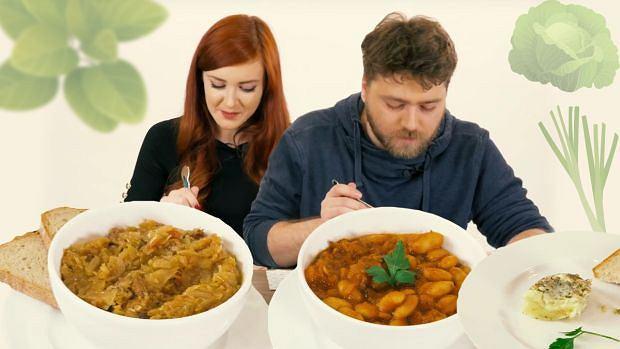 Z mięsem czy bez? Mięsożercy testują wegańskie dania