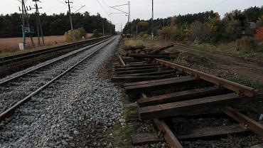 Stacja PKP Poznań Strzeszyn. Trasa kolejowa Poznań - Piła przed modernizacją