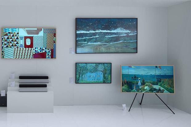 Oferta telewizorów podczas Samsung Forum 2020.