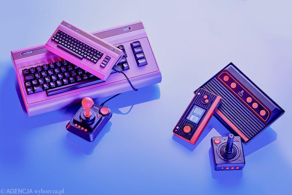 Test retro konsol