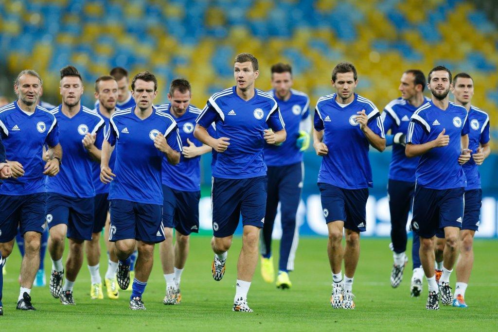 Trening reprezentacji Bośni i Hercegowiny