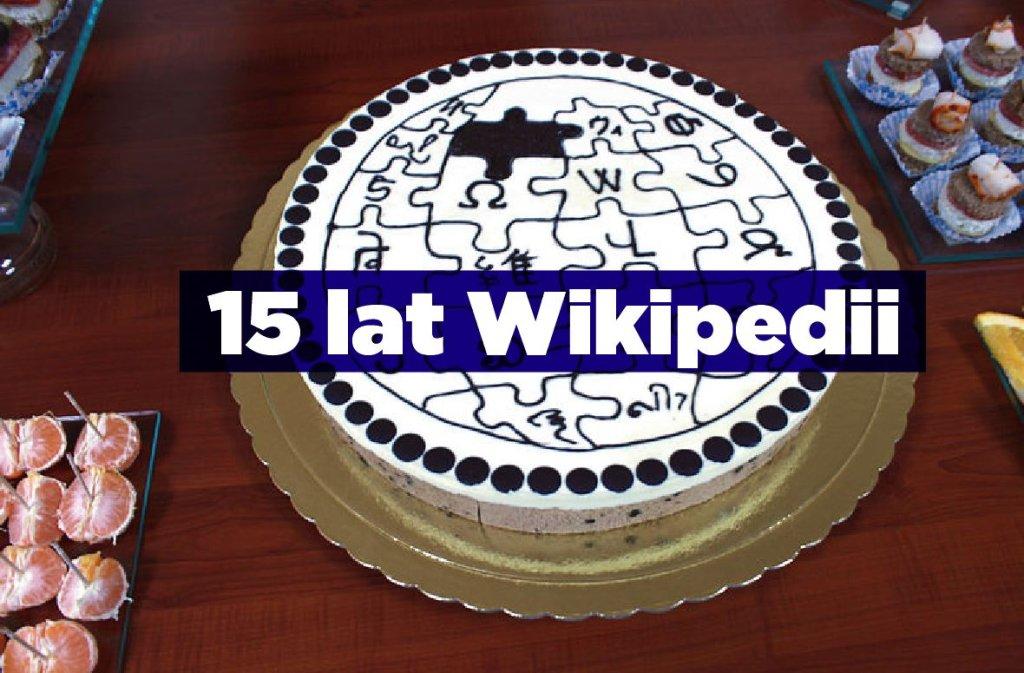 Wikipedia kończy dziś 15 lat