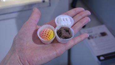 Cukierki z drukarki 3D