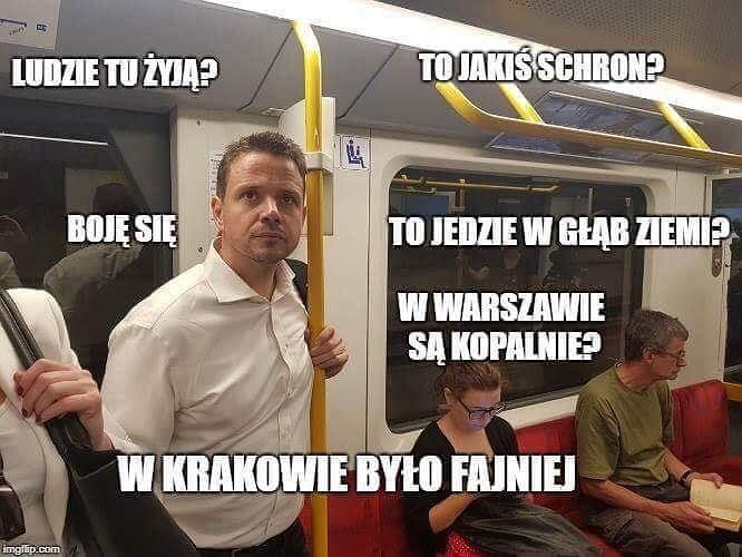 Rafał Trzaskowski zwiedzał Warszawę. Po akcji 18dzielnicw18h ...