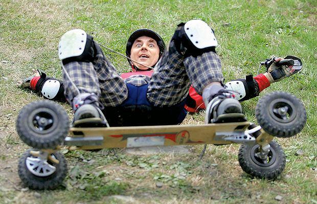 Lato snowboardzistów, czyli mój pierwszy raz na mountainboardzie, snowboard, sport, mój pierwszy raz
