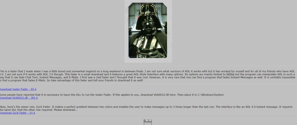 Vader Fader