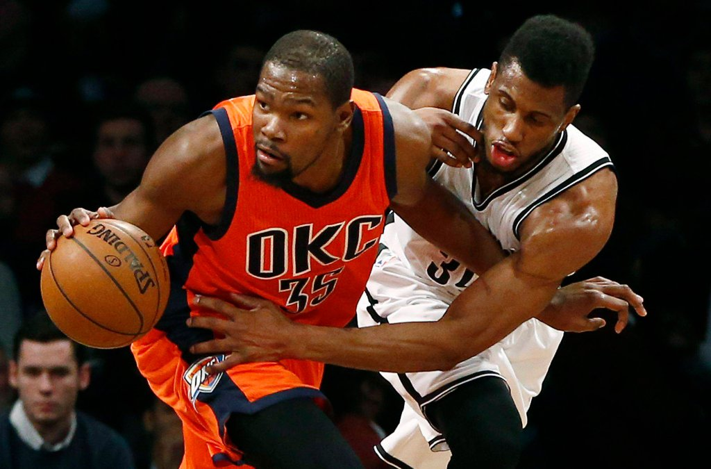 Kevin Durant i Thaddeus Young