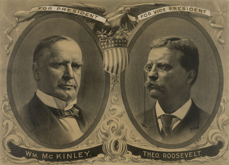 W 1901 na Leon Czołgosz dokonał zamachu na prezydenta USA Williama McKinleya (z lewej) (fot. Shutterstock)