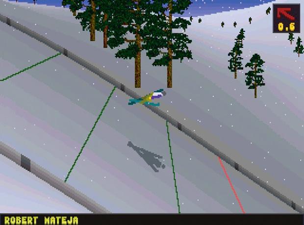 Top 10: gry sportowe wszechczasów, gry, top 10, Deluxe Ski Jump 2