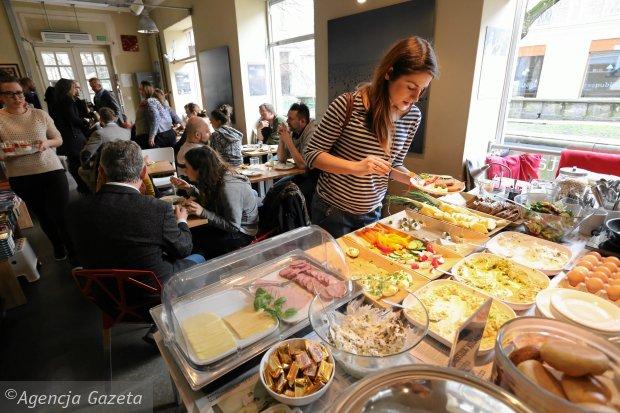 W klubokawiarnii Wrzenie Świata mozna zjeść weekendowe śniadanie