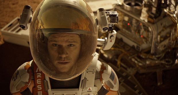 Matt Damon jako astronauta Mark Watney ( fot. COURTESY TWENTIETH CENTURY FOX)