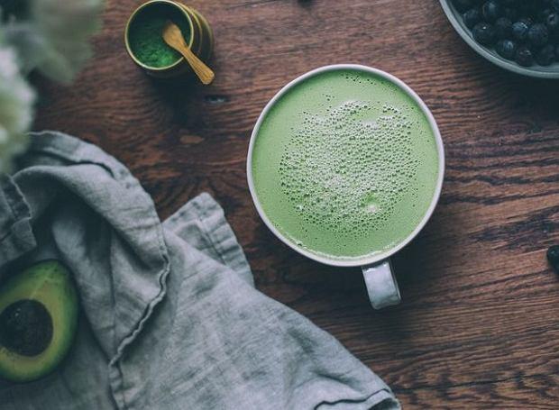 Kawa z herbatą Matcha