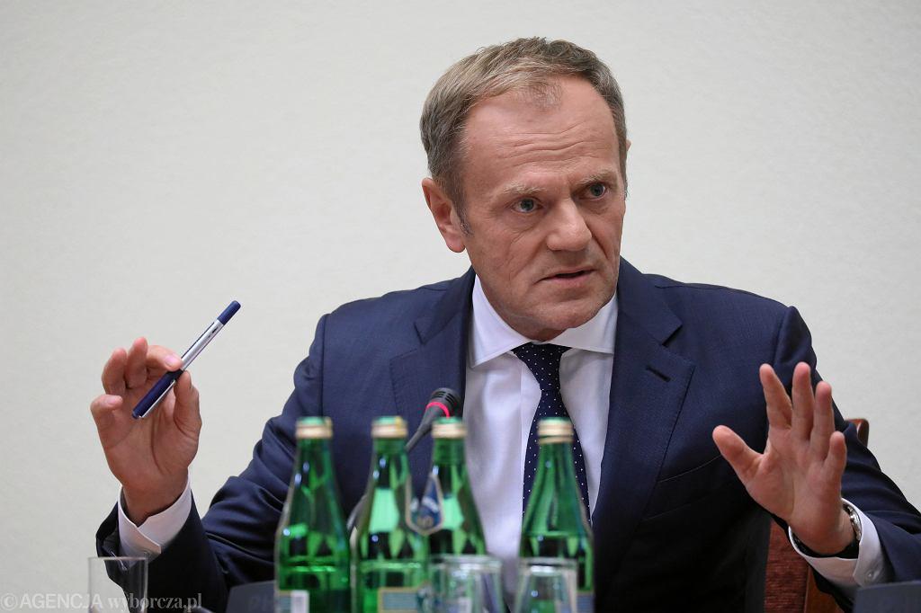 Donald Tusk przed Komisją Śledczą ds. VAT