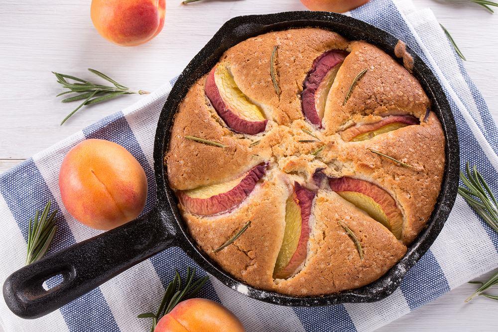 Patelnię żeliwną można także wkładać do piekarnika