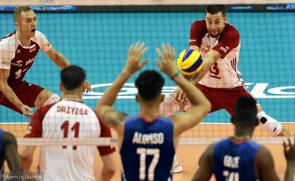 Mistrzostwa Świata w siatkówce 2018. Polska - Kuba 3:1