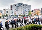 Nie dla odbierania wolności! Czarny protest przeszedł ulicami Białegostoku