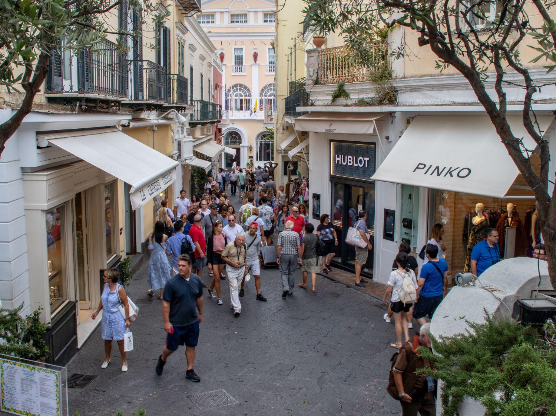 Butiki na Capri (fot. Shutterstock)