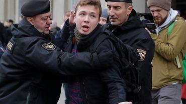 2017 r. - zatrzymanie Romana Protasiewicza w Mińsku