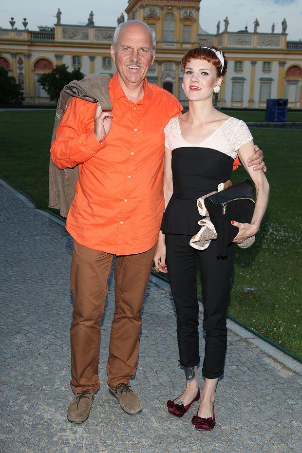Tomasz Zubilewicz i córka, Marta Zubilewicz