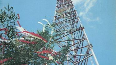 Maszt radiowy w Konstantynowie był najwyższą budowlą na świecie.