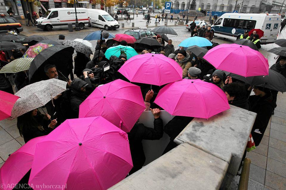 Czarny protest w Warszawie, 24 października