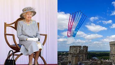 Skromne urodziny królowej Elżbiety. Uśmiech nie schodził jej z twarzy. Błękitna broszka była pięknym hołdem