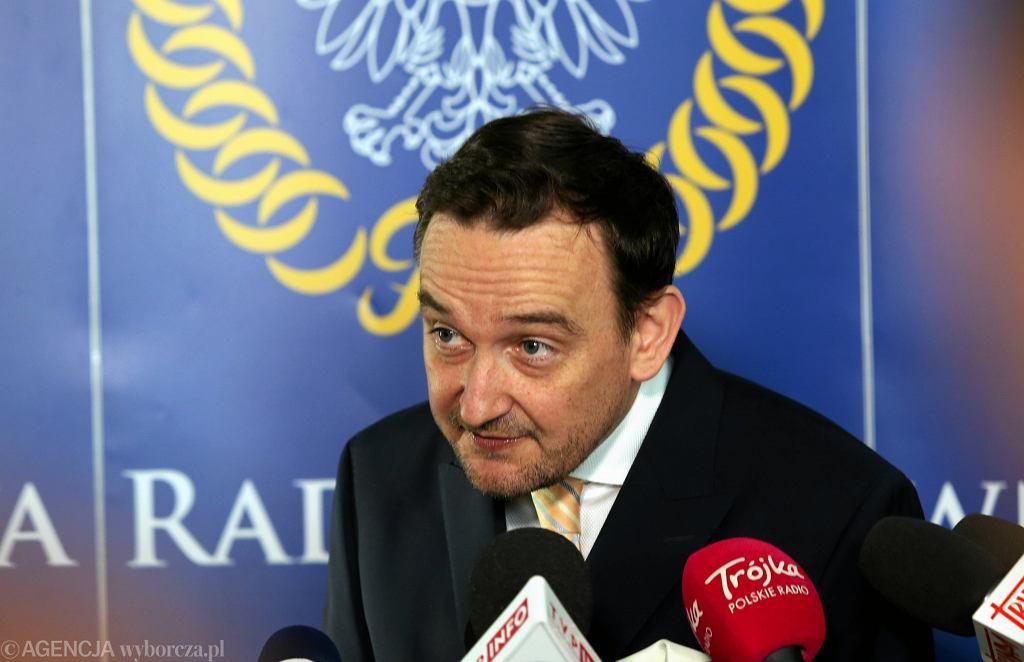 Rzecznik KRS Maciej Mitera