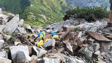 Zamknięty szlak na giewont po tragicznej burzy w Tatrach