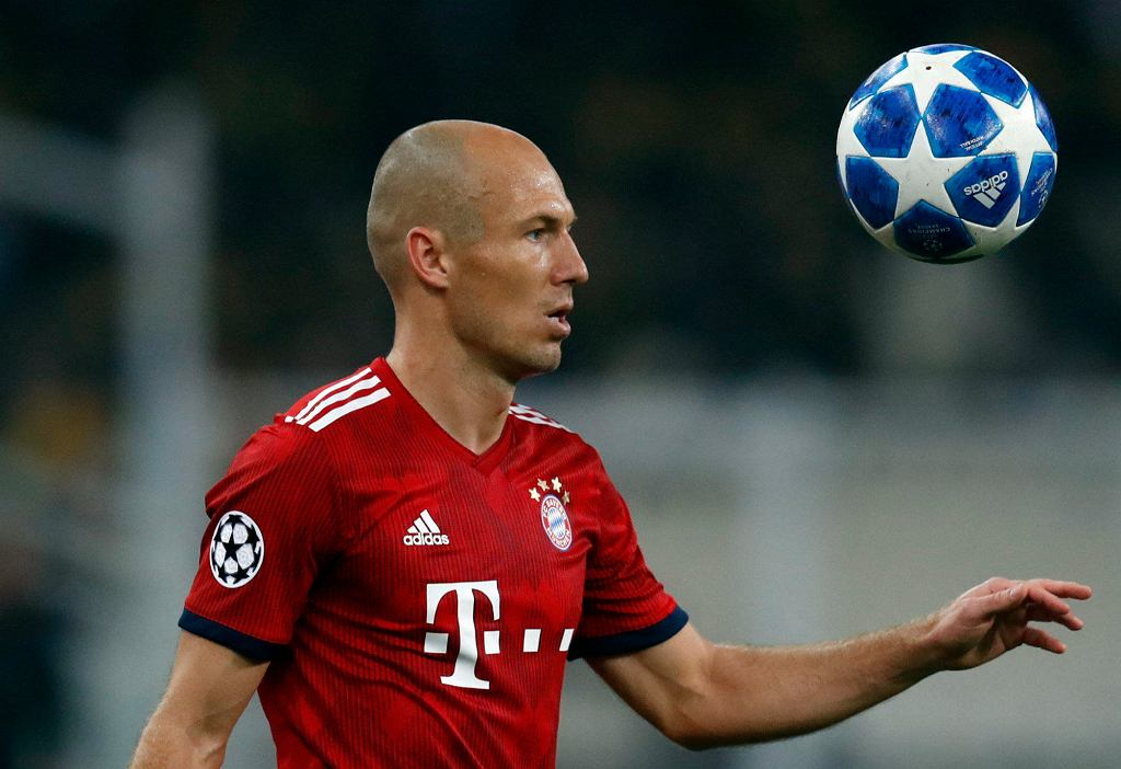 Arjen Robben w Bayernie
