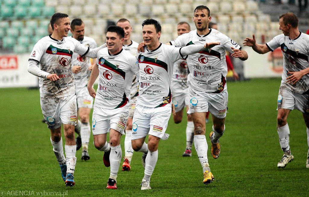 Piłkarze GKS-u Tychy znowu mają powody do radości