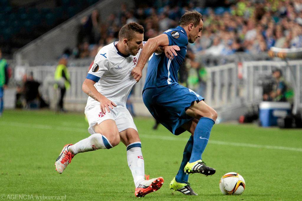 Lech Poznań - Belenenses 0:0. Dariusz Dudka