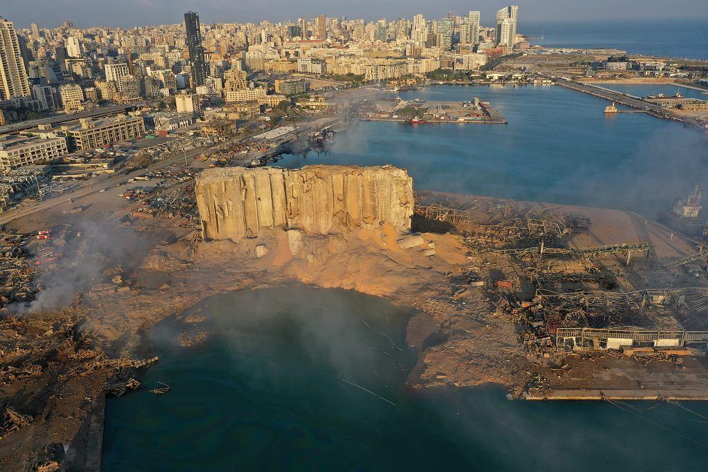 Bejrut. Eksplozja azotanów