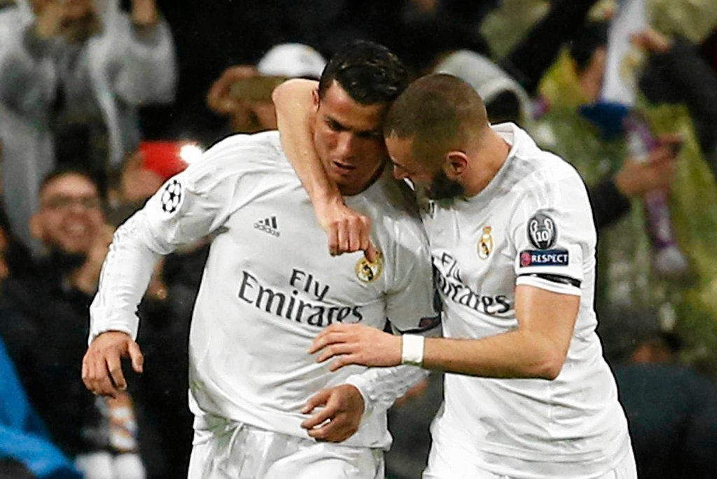 Cristiano Ronaldo i Karim Benzema
