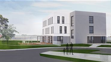 W czterokondygnacyjnym budynku przy ul. Ptasiej na gdańskiej Oruni powstanie przedszkole oraz poradnia psychologiczna.
