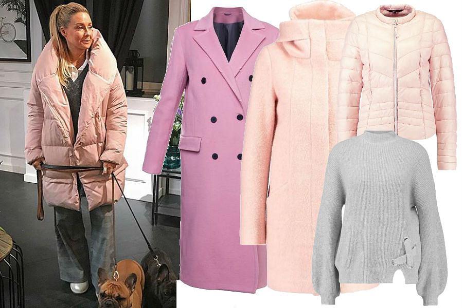 fot. Instagram @mrozenek/ różowy płaszcz do pracy