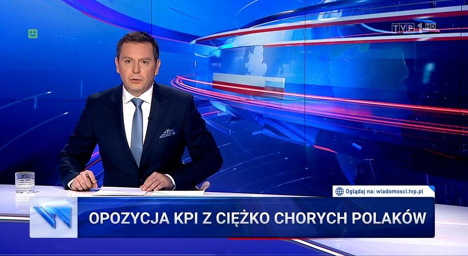 'Wiadomości' TVP z 19.09.2019