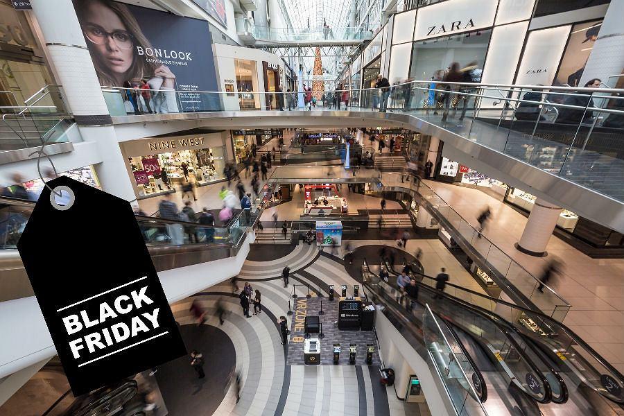 Lista sklepów biorących udział w Black Friday