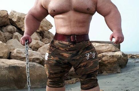 KSW szykuje kolejny freak fight? ''Irański Hulk'' może zmierzyć się z Martynem Fordem